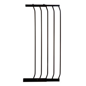 Dreambaby Chelsea Xtra-Wide Xtra-Tall Gate - 14/36cm Gate Extension - Black - R Exclusive