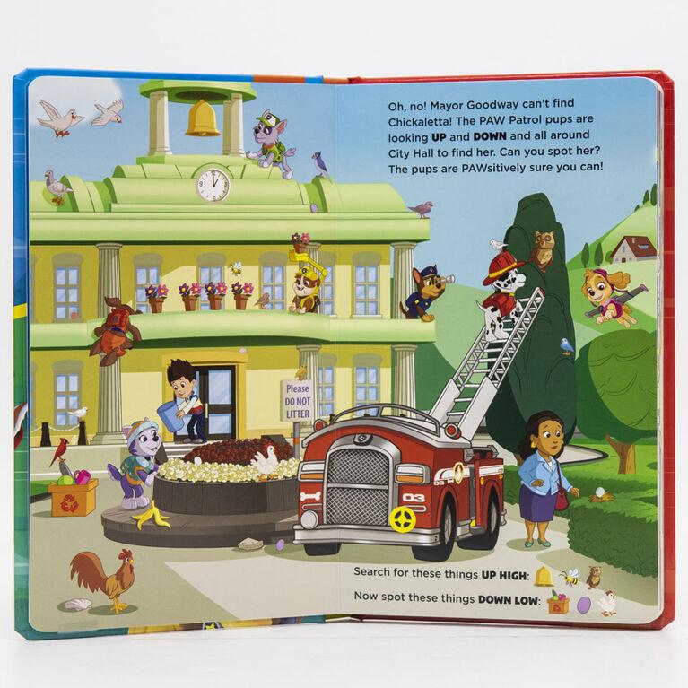 Take A Look Book Paw Patrol - English Edition