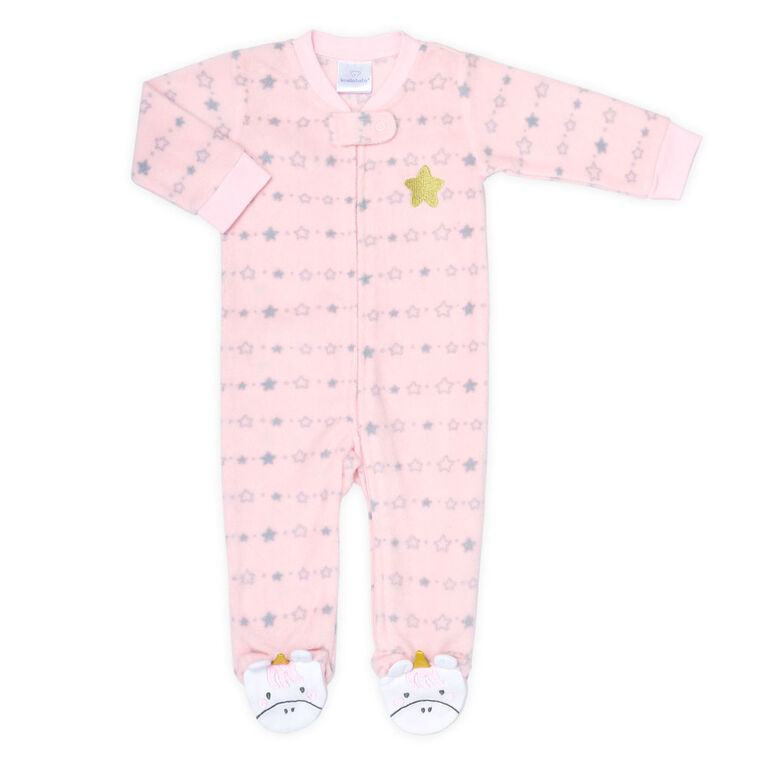 Koala Baby Unicorn Fleece Sleeper-Size 18-24 Months