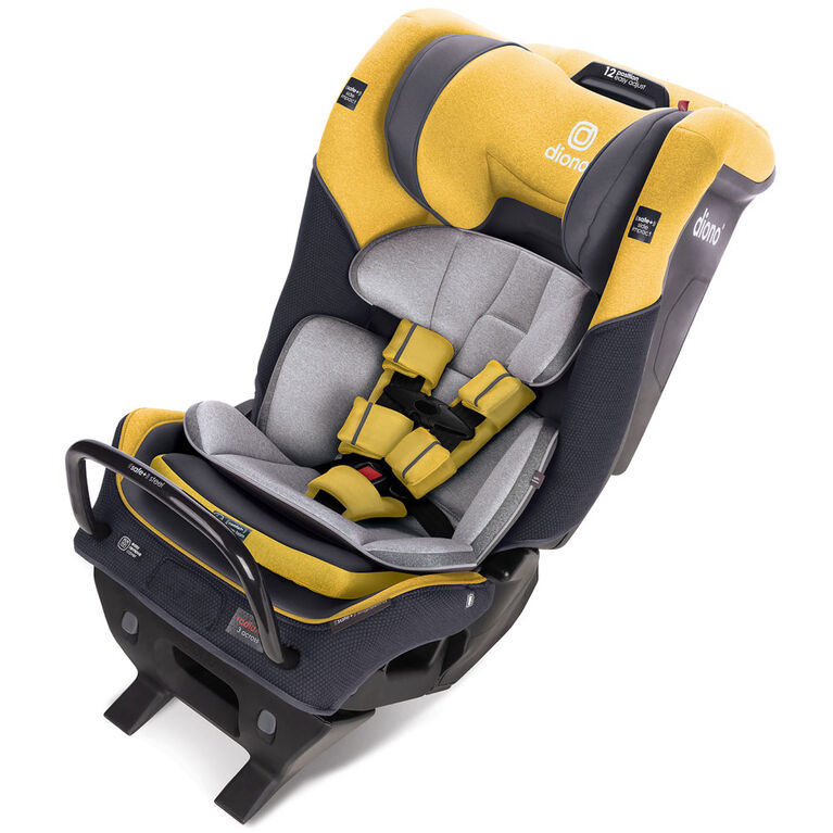 Radian 3Qx Latch All-In-One Convertible Car Seat - Yellow Mineral