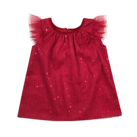 Holiday Dress - Red, 24 Months