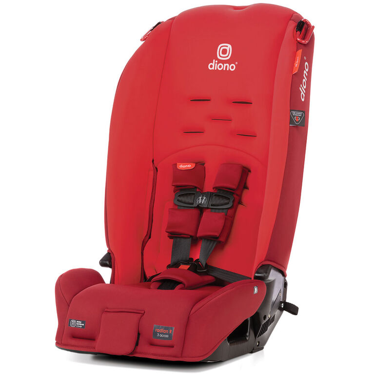 Diono Radian 3R Allinone Convertible Car Seat- Red