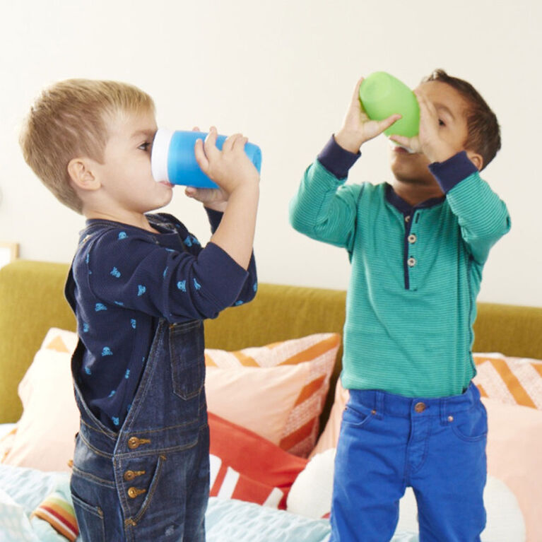 Munchkin's BPA Free 2-Pack 10 Ounce Miracle 360 Degree Cup - Green