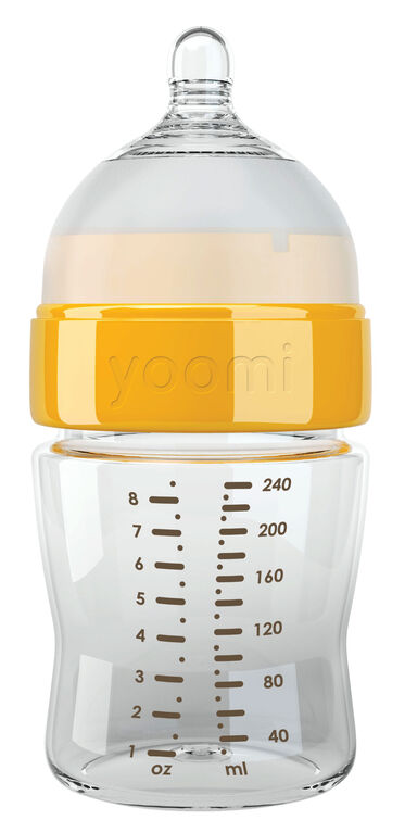 yoomi - 8oz Easy-Latch™ Bottle
