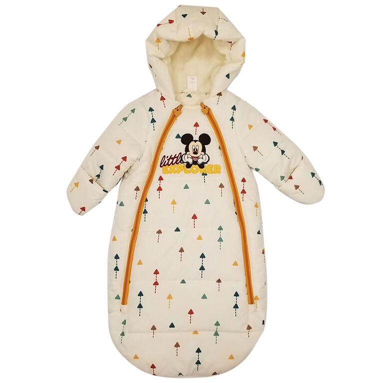 Baby Boy Mickey Mouse Winter Sack 6-12 Months
