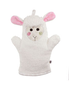 Zoocchini Bath Mitt - Lola the Lamb