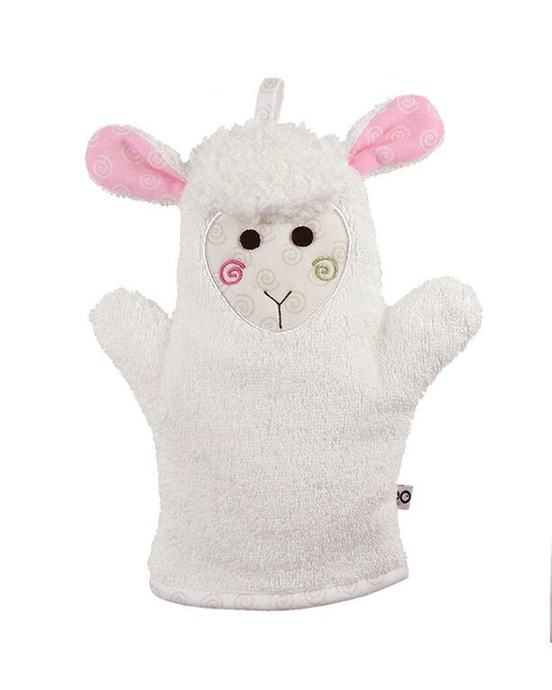 Zoocchini Bath Mitt - Lola the Lamb