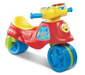 2-in-1 Learn & Zoom Motorbike - French Edition