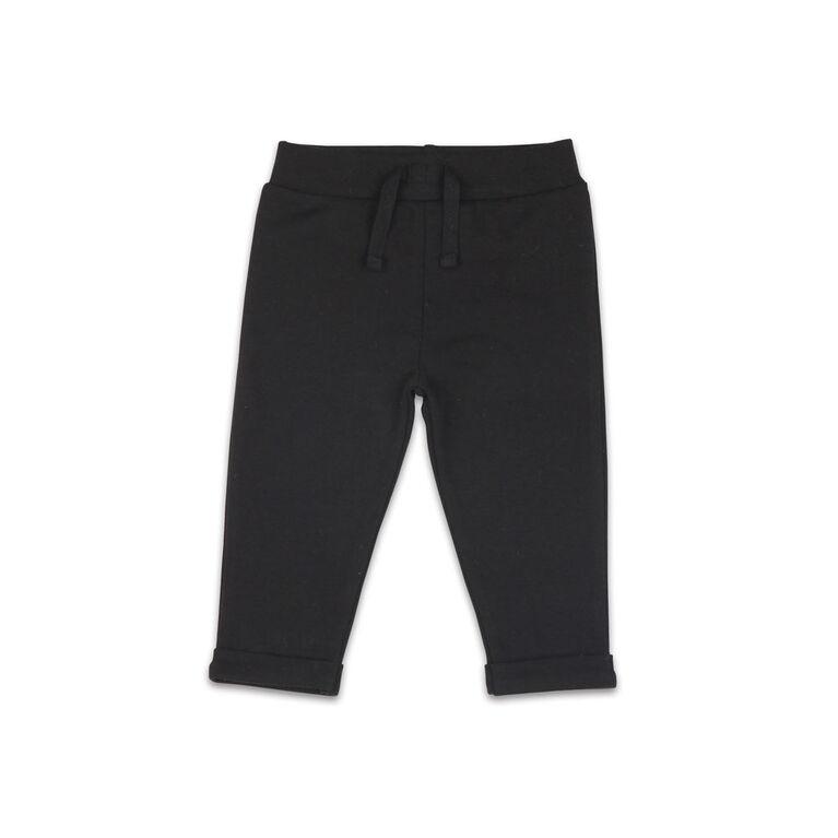 Pantalon de salon noir interchangeable The Peanutshell, layette pour bébé fille - 18-24 Mois