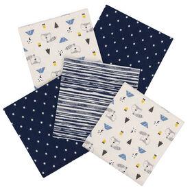 Paquet de 5 couvertures pour bébé de Gerber Renard