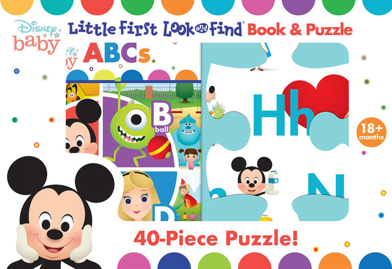 Little My First Look and Find Puzzle - Disney Baby ABCs - English Edition