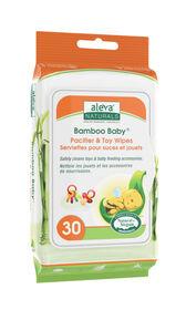 Aleva Naturals Bamboo Baby serviettes pour suces et jouets 30 cnt.