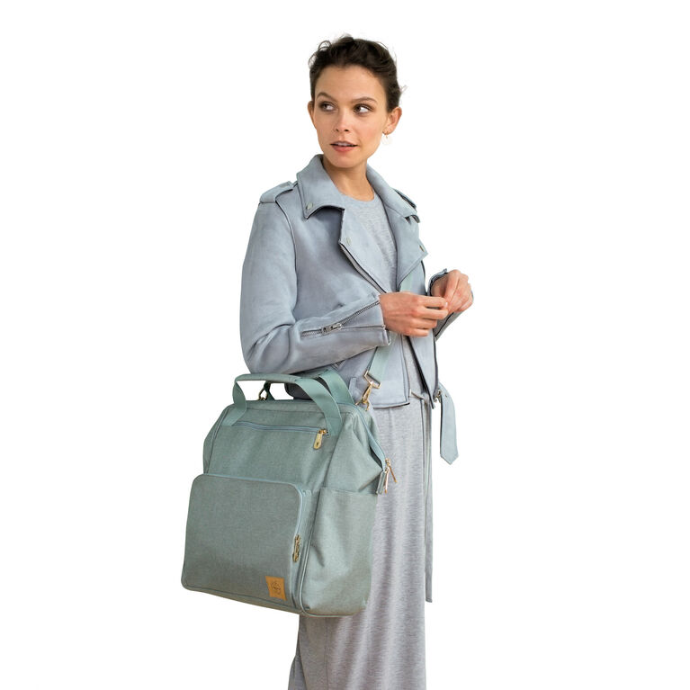 Lassig Glam Goldie Backpack Diaper Bag - Mint