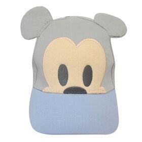 Casquette Baseball Aux Oreilles 3D Disney - Mickey, Bleu, 12-24M