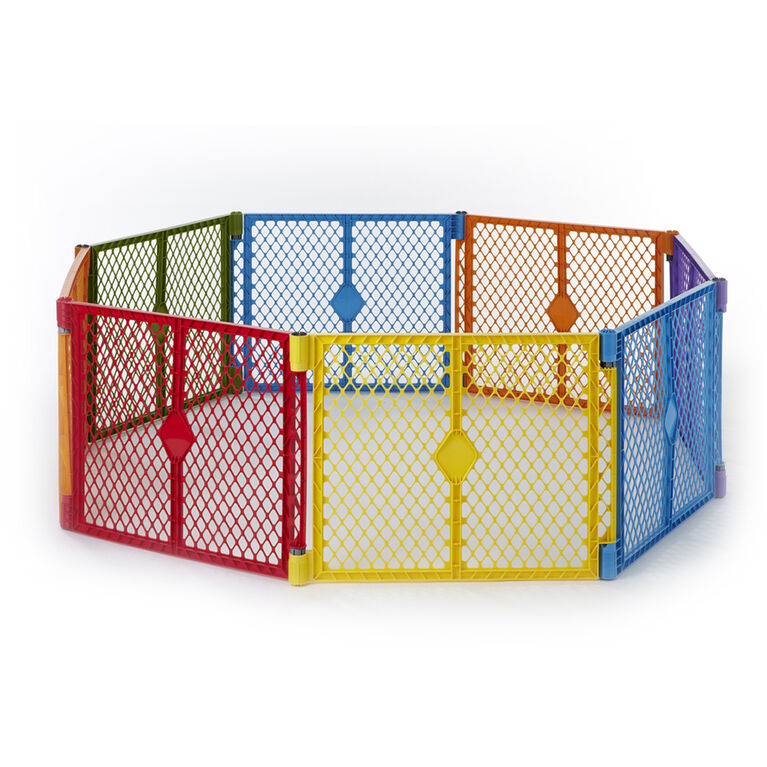 North States Superyard Colorplay 2-Panel Extension