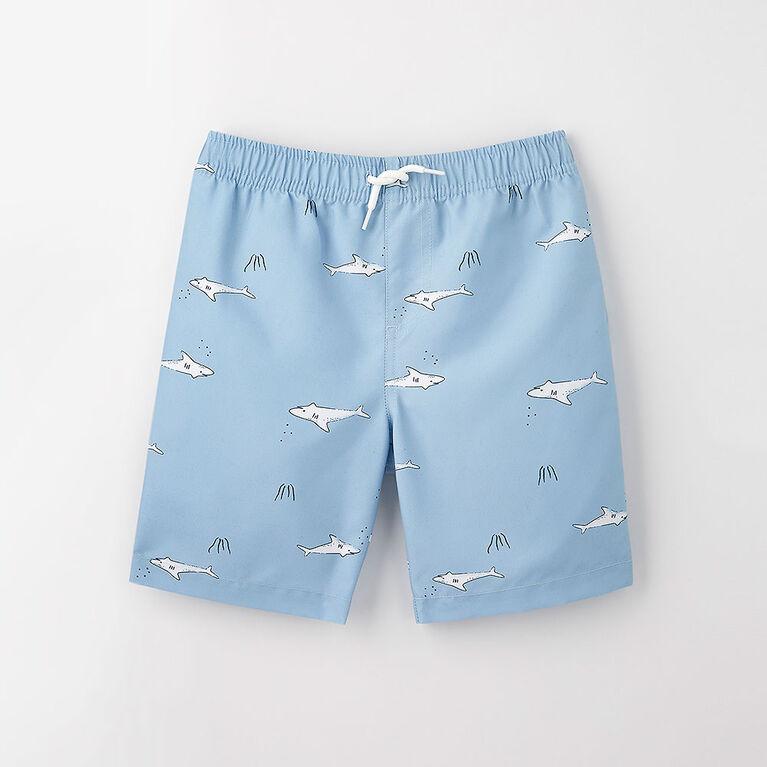 4-5 ans short de bain - bleu pâle