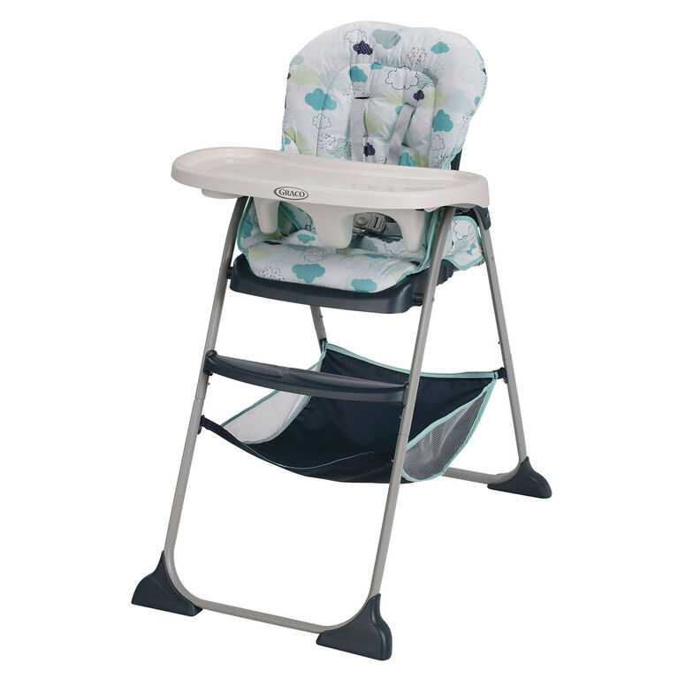 Graco Slim Snacker Highchair - Stratus