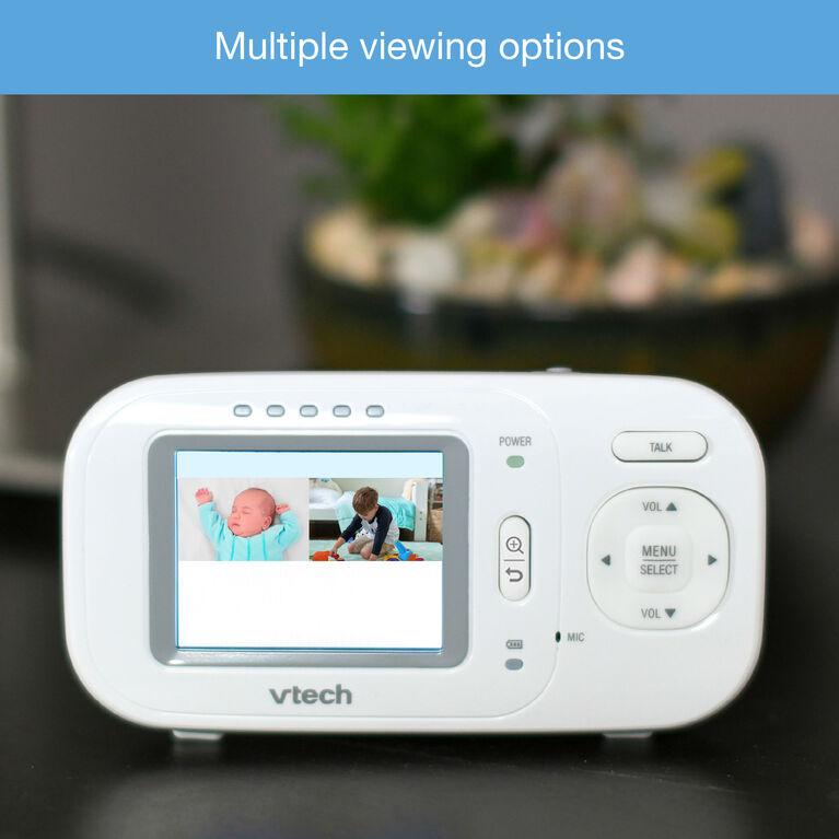 Moniteur couleur vidéo et audio avec 2 caméras VM2251-2 de VTech - Notre exclusivité