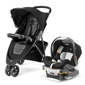 Systeme de voyage Viaro de Chicco avec siege d'auto pour bebe KeyFit 30 - Apex.