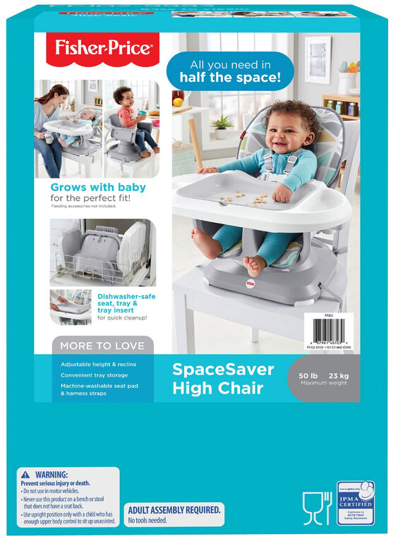 Fisher-Price – Chaise repas compacte.