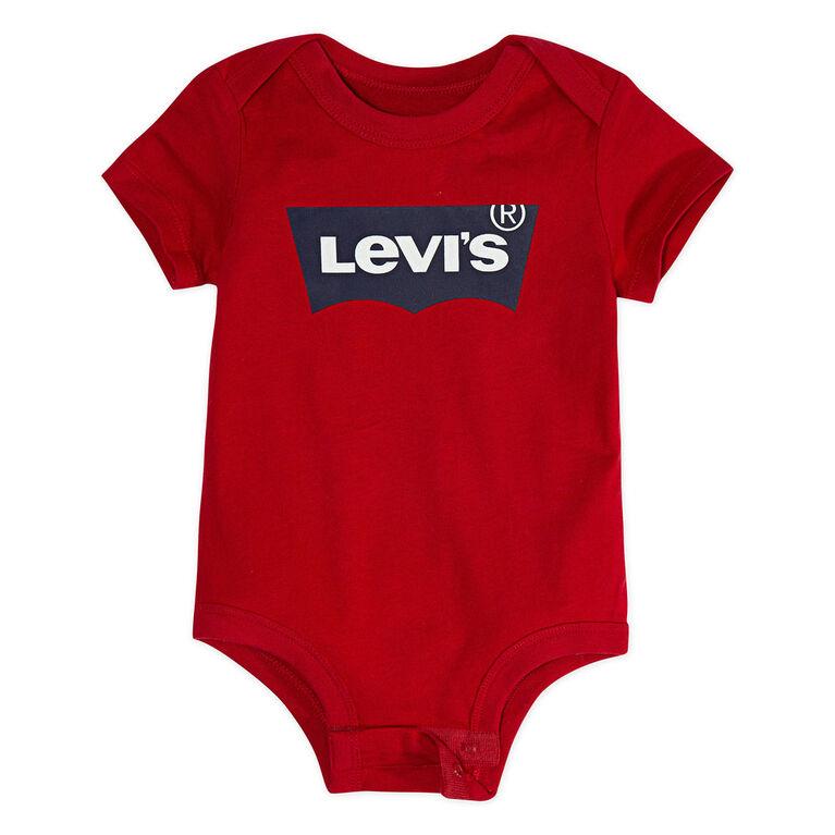 Levis Bodysuit - Red, 12 Months