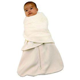 Halo SleepSack Fleece Swaddle Wearable Blanket - Cream - Newborn