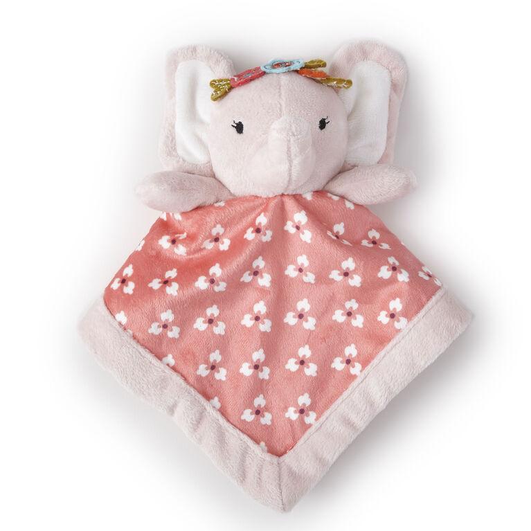Doudou Levtex Baby - Éléphant rose