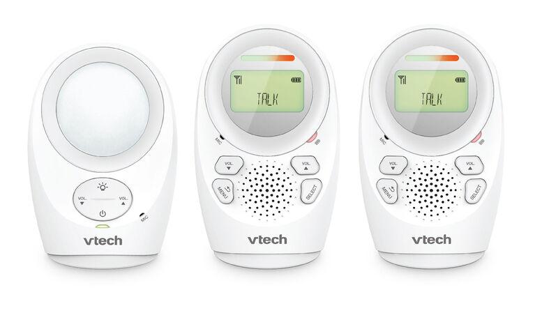 VTech DM1211-2 - Moniteur audio numérique à portée étendue avec 2 unités pour parent.