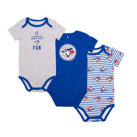 Snugabye - MLB - 3 Pack Body Suit - 0-3 Months