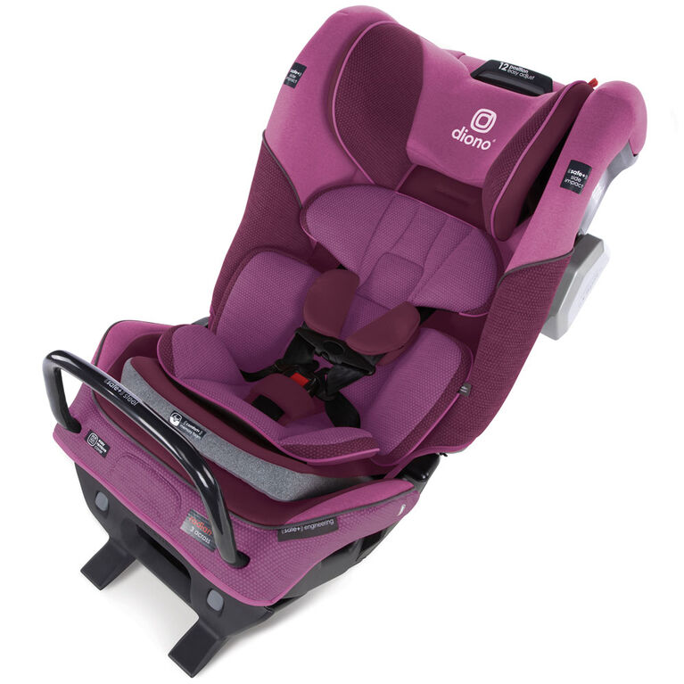 Radian 3Qxt Latch All-In-One Convertible Car Seat - Purple