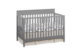 Oxford Baby Skyler 4in1 Convertible Crib Dove Gray - R Exclusive