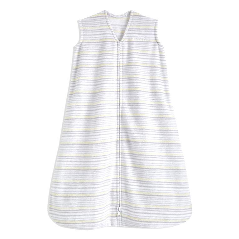 Halo Sleepsack - Micro-Fleece - Multi Stripe - Grey - Medium