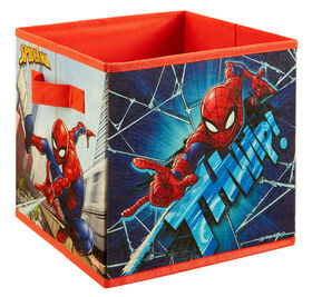 """9"""" Bac de rangement souple- Spider-Man"""