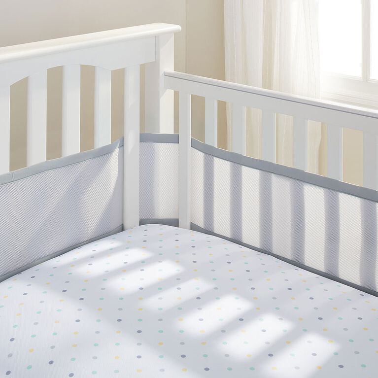 BreathableBaby - Breathable Crib Liner - Grey