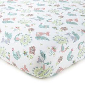 Levtex Baby - Drap-housse de la collection Fiona pour lit de bébé.