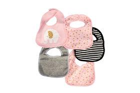 Koala Baby 5 Pack Jersey Knit Bibs