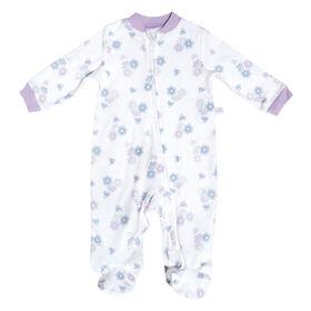 Pyjama en tricot - Fleurs, 3 Mois Perlimpinpin.