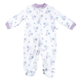Pyjama en tricot - Fleurs, 9 Mois Perlimpinpin