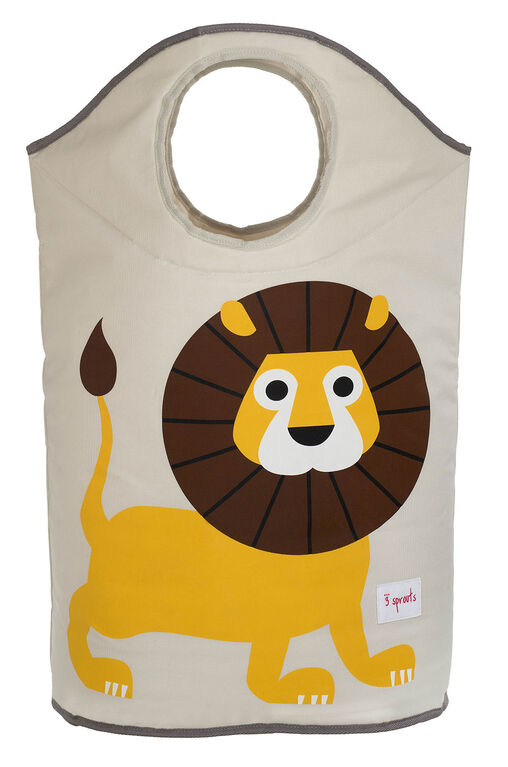3 Sprouts Laundry Hamper Lion - Yellow