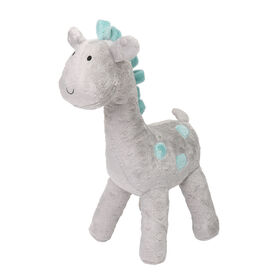 The Peanutshell Uptown Giraffe Grey Plush