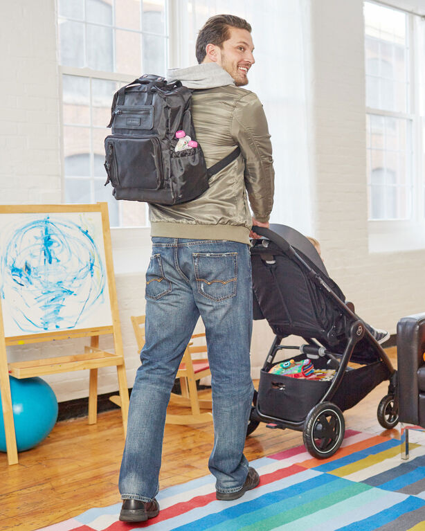 JJ Cole Papago Pack Backpack Diaper Bag - Black