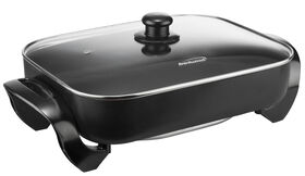 Brentwood 16 Non-Stick Electric Skillet with Glass Lid - SK75