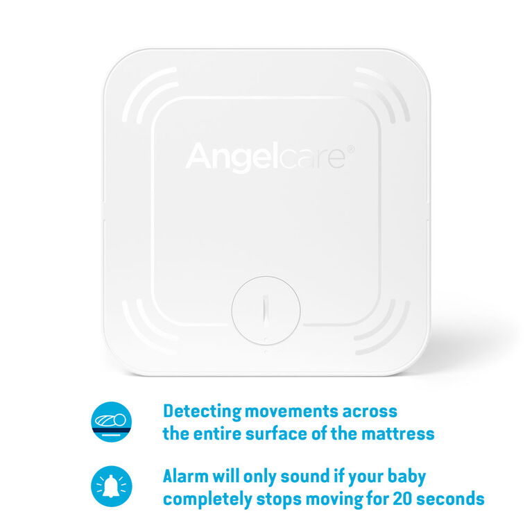 Angelcare® AC327 Baby Movement Monitor with  Sound and Video, 4.3'' Color Screen