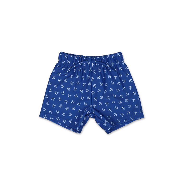 Koala Baby Anchor Print Swim Trunk 0-3 Months