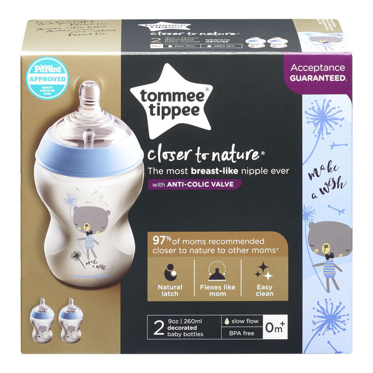 Tommee Tippee Closer to Nature 2-Pack Bottle