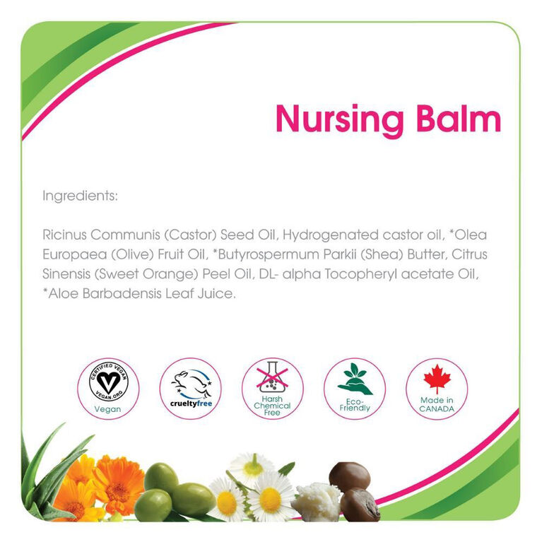 Aleva Naturals Maternal Care Baume d'allaitement 50ml.