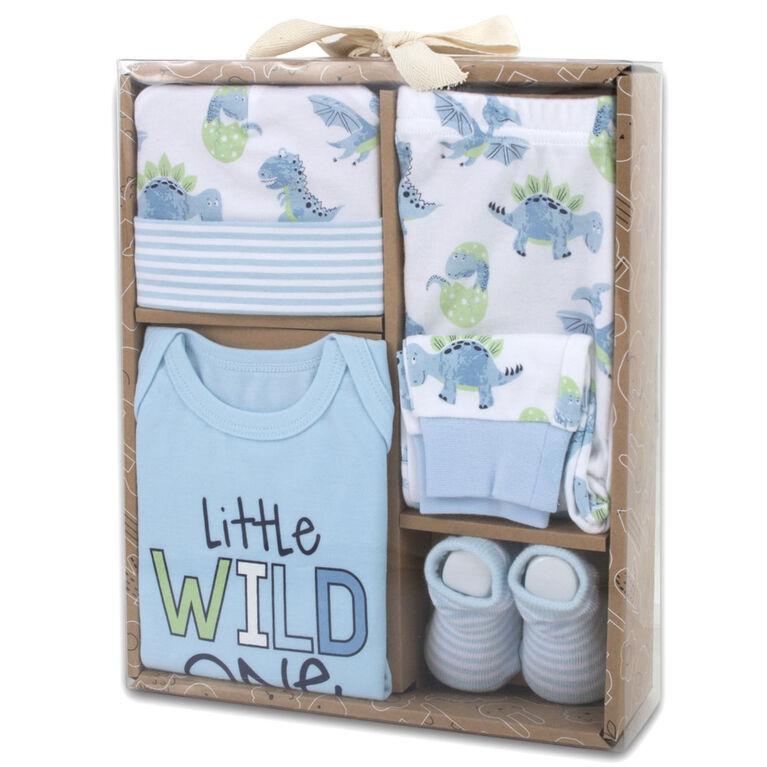 Baby Essentials Little Wild One - 4-Piece Layette Set - English Edition
