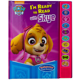 I'm Ready to Read with Skye Paw Patrol Sound Book