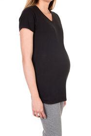 Koala Baby T-shirt de maternité - noir, Moyen.