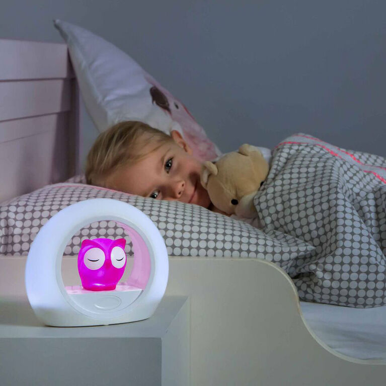 Zazu Lou Sound Activated Nightlight - Pink